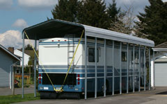 steel metal carports and shelters