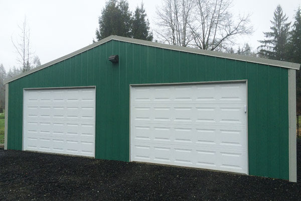 Garage Kits Canada : Steel garage packages bc canada